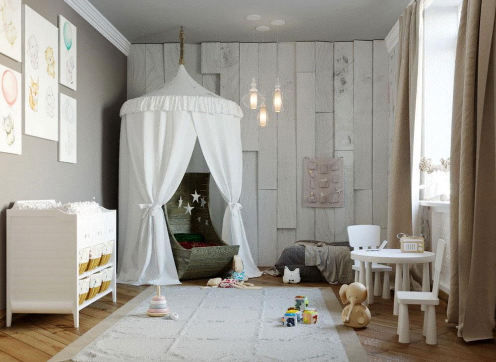 Утонченные идеи детской комнаты для девочки-1