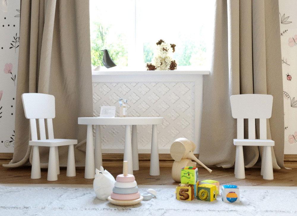 Утонченные идеи детской комнаты для девочки-3