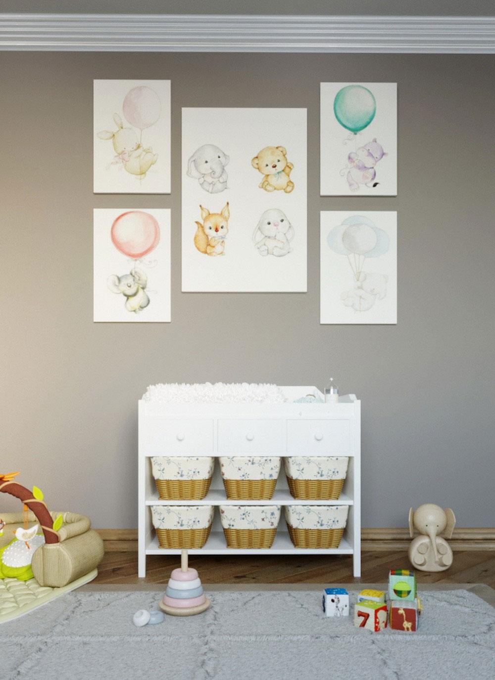 Утонченные идеи детской комнаты для девочки-4