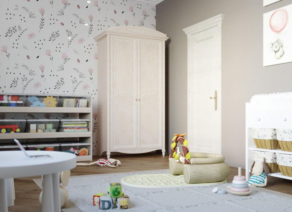 Утонченные идеи детской комнаты для девочки-5