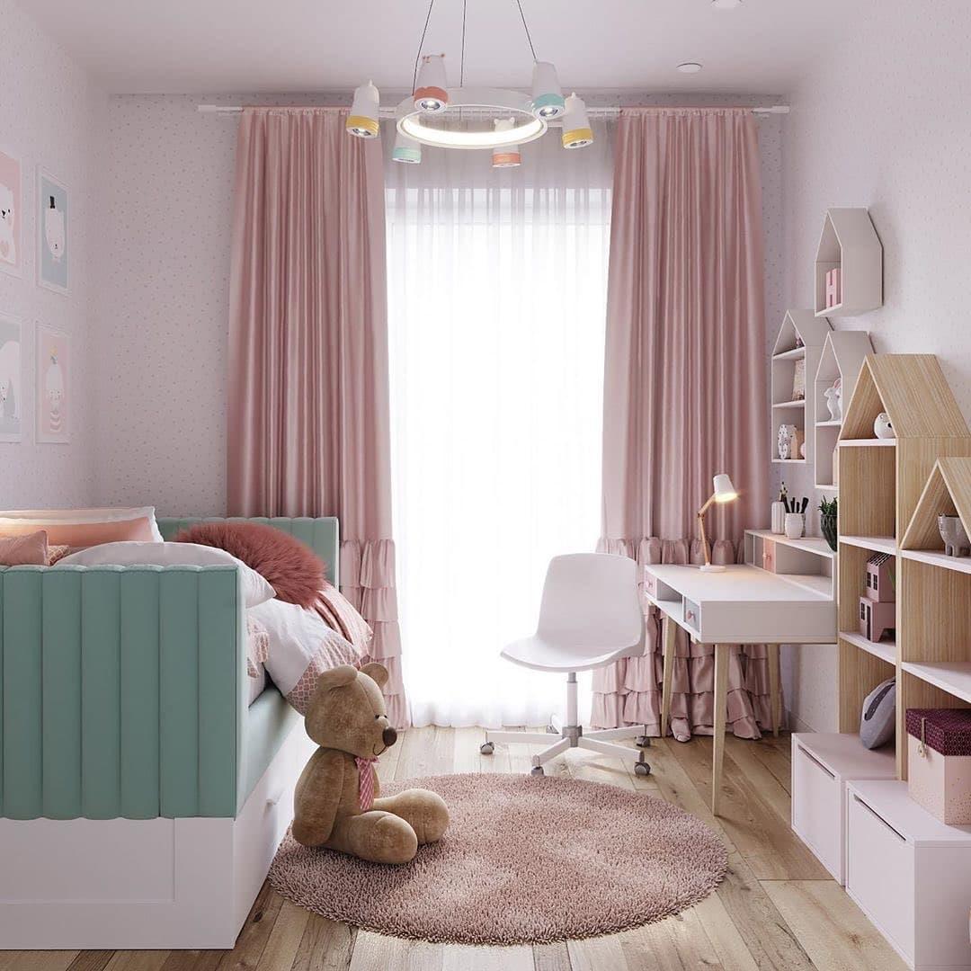 Уютная сказочная спальня для маленькой девочки 2