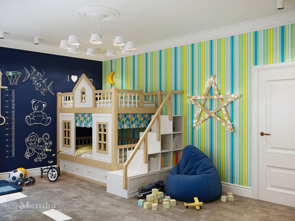 Уютный дизайн детского уголка для мальчика 1