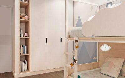 По дороге с облаками — кровать-чердак как квинтэссенция детского интерьера