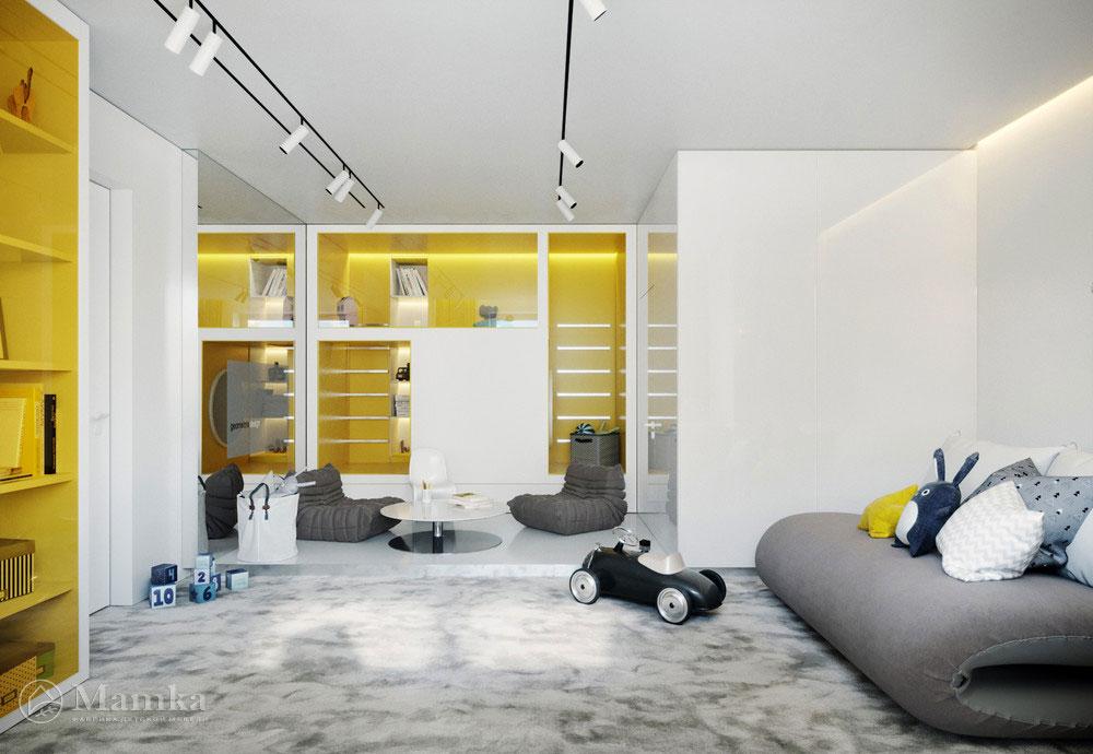 Фантастически яркий дизайн детской игровой комнаты 2